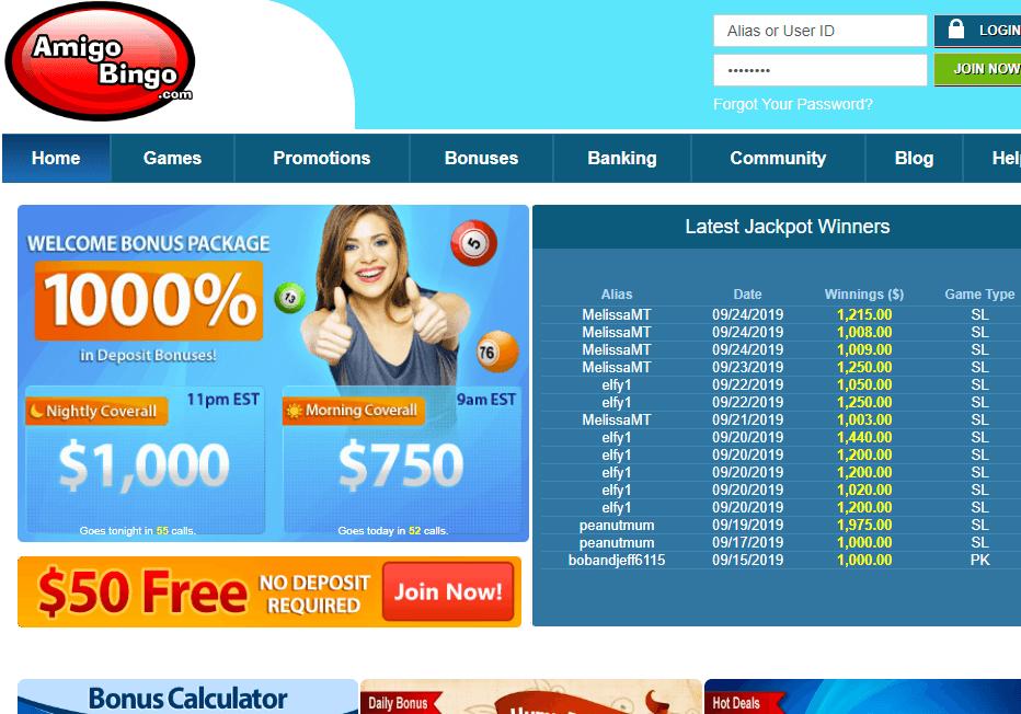 amigobingo.com website review