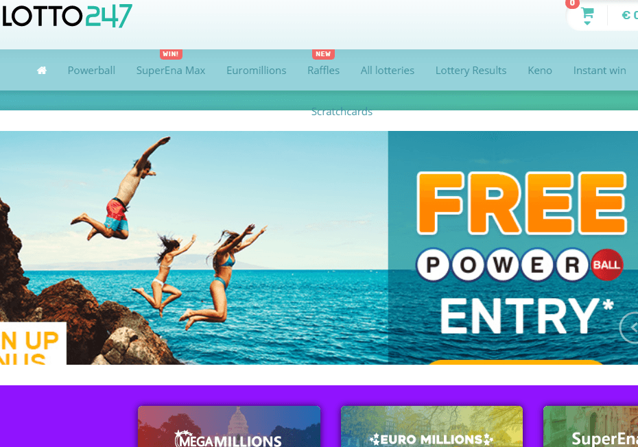 Lotto247 Website Review