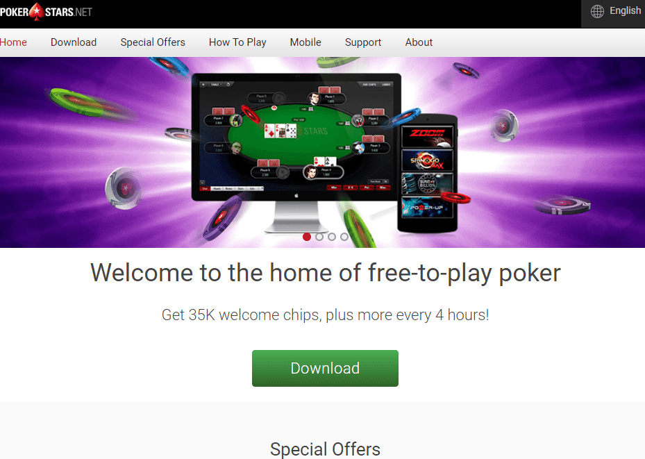 pokerstars.net website review