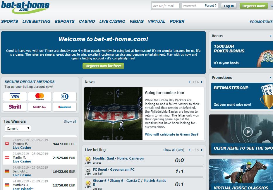 bet-at-home.com Websaite Review