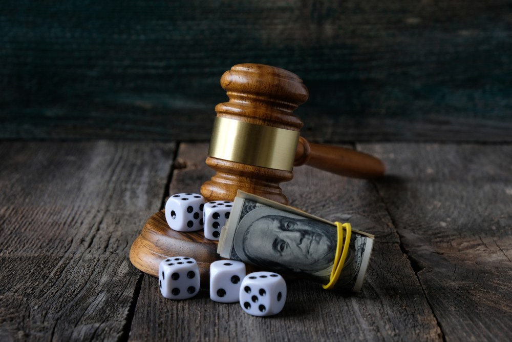 Are online gambling sites legal or illegal?