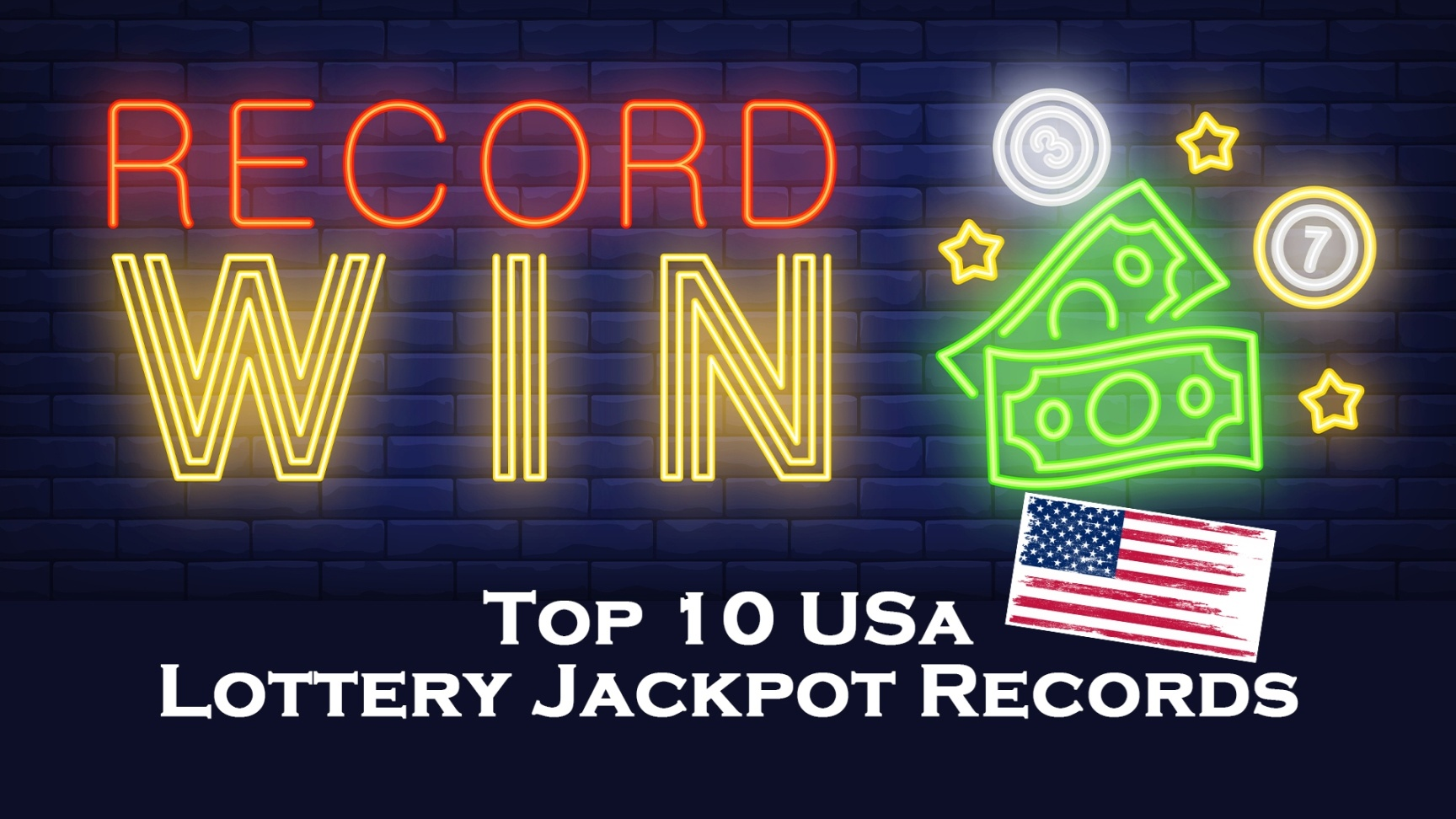 Top 10 USA lottery jackpot records