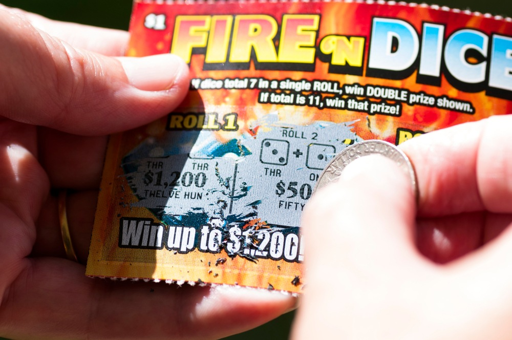 Be Patient Scratch Off Lottery Tickets